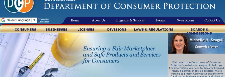 Departamento de Defesa ao Consumidor de Connecticut