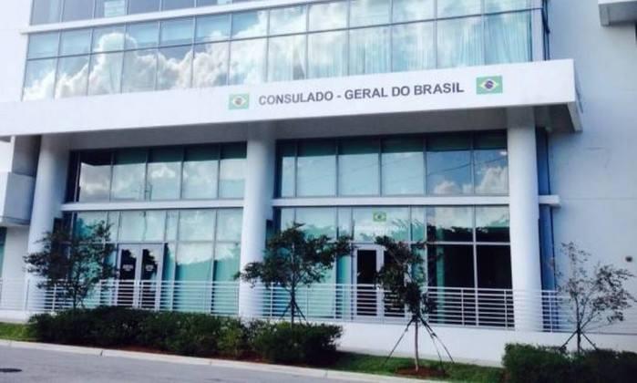 Consulado Geral do Brasil em Miami trabalhará em regime de plantão