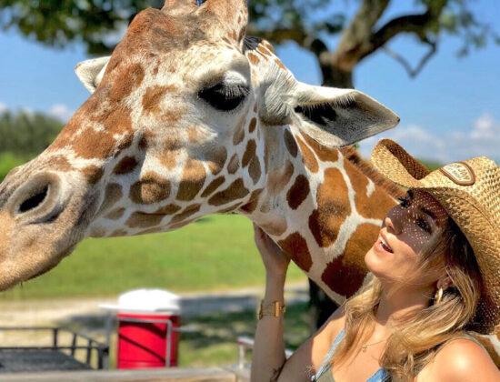 Busch Gardens com Duda Orlando